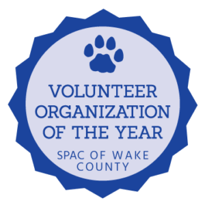 Volunteer Organization of the Year by the SPCA