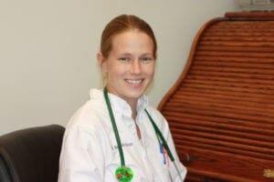 Dr Bethany Riego at Glenwood