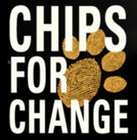 Chips for change logo