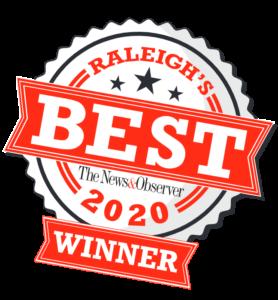 raleigh's best 2020 winner logo